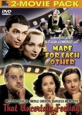 Comedy: Made for Each Other/That Uncertain Feeling (DVD) NEW