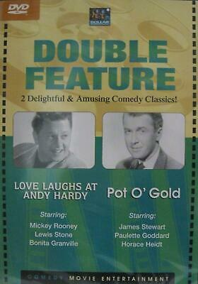 Comedy: Love Laughs at Andy Hardy/Pot O' Gold (DVD) NEW