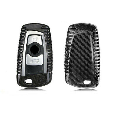 Real Carbon Fiber Case Cover For Bmw F30 F32 F22 F10 F80 F82 Key Fob Remote