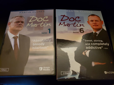 Doc Martin: Season 1 & Season 6 (DVD, 2017)  One & Six