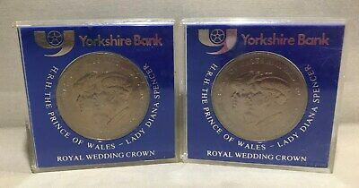 Yorkshire Bank - The Prince Of Wales & Lady Diana Spencer Collector Coins