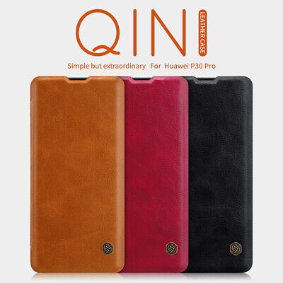 Genuine Nillkin PU Leather Flip Card Case Business Cover For Huawei P30 Pro Lite