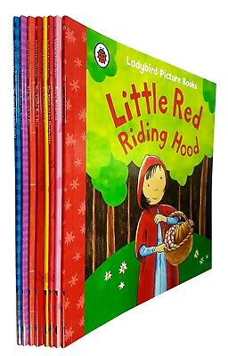 Ladybird Picture Books Collection Series 1 Little Red Riding Hood 8 Books Set