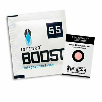 Integra Boost Humidity Control Humidiccant Packet (10 pack) (8g 55% R.H.) New
