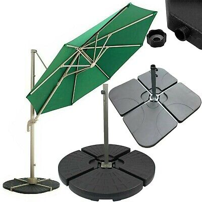 Heavy Parasol Base Stand Weights for Banana Hanging Cantilever Umbrella Parasol