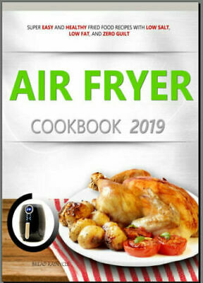 Super Easy Air Fryer Recipes Cookbook PDF EB00k 023B - Fast Delivery