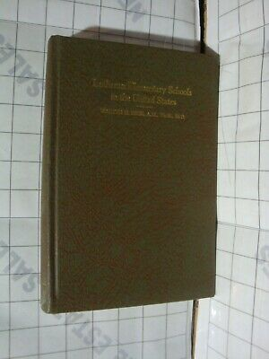 Lutheran Elementary Schools in the United States history development Walter Beck
