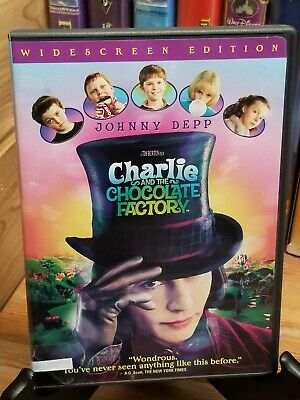 Charlie And The Chocolate Factory    [Dvd] Great Quality!  Combine Shipping!