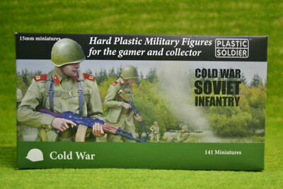 Plastic Soldier COLD WAR SOVIET INFANTRY 15mm scale