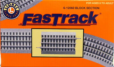 Pleasant Lionel Fastrack Block Track Section Isolated Train Fast Insulated 6 Wiring 101 Mentrastrewellnesstrialsorg