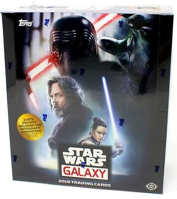 2018 Topps Star Wars Galaxy Hobby Box Blowout Cards