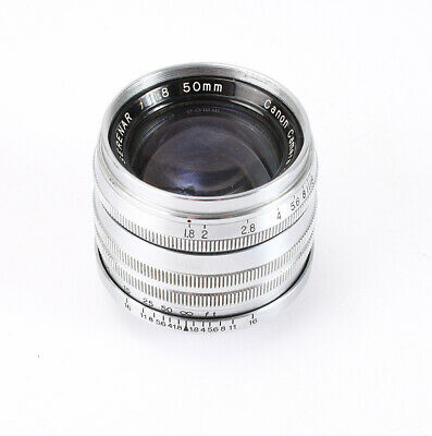 50Mm 50/1.8 Canon Serenar Leica Thread Mount Ltm (Haze, Heavy Marks)/208701