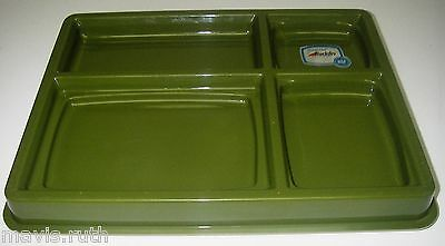 Aladdin Temp-rite Server Stacking Sectioned Serving Tray Insulated Meal Delivery