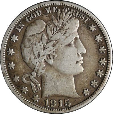 1915-S Barber Half Dollar Great Deals From The Executive Coin Company