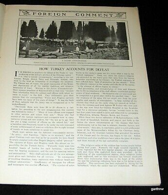 Turkey Partition 1912 Pictorial Ottoman Military Loss Balkan War + Russia's View