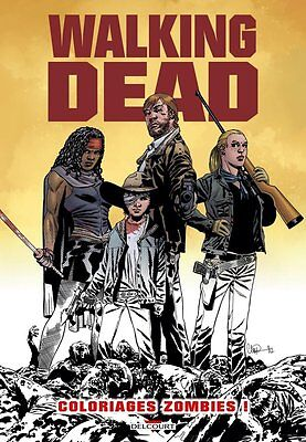 The Walking Dead Coloring Book French Oversized Edition Charlie Adlard