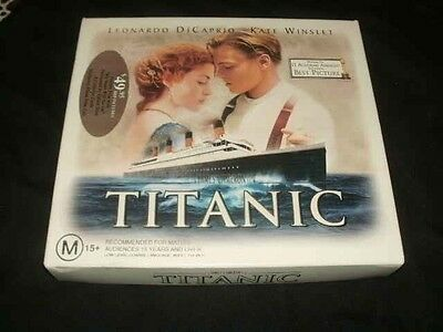 Titanic Plus Collector Cards Vhs Pal Video A Rare Find