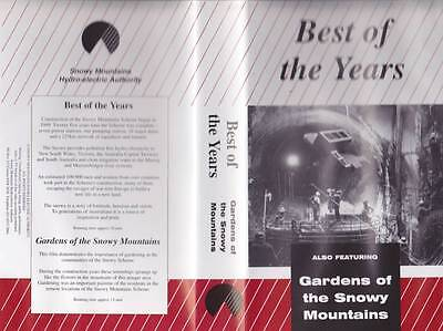 Gardens Of The Snowy Mountains  Vhs Video Pal~ A Rare Find