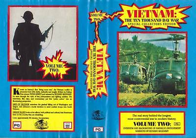 Vietnam Volume Two  A  Rare Find Vhs Video Pal~
