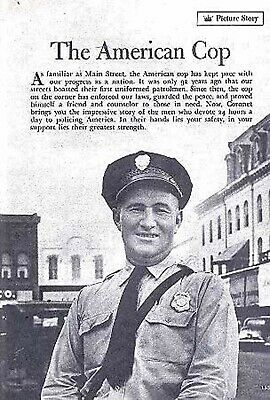 American Police Man 1948 (21) Photo Pictorial Officers Daily Life On The Beat
