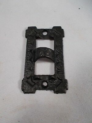 Cast Iron Wall Bracket Wall Plate Holder Piece for Victorian Bracket Oil Lamp