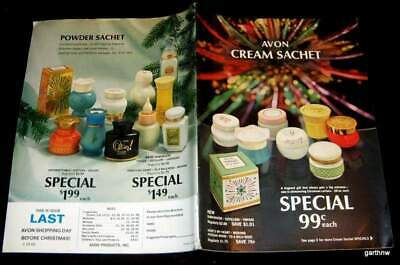 Avon Catalog 1966 Beauty Aids Soap Cosmetics Cologne Products & Prices