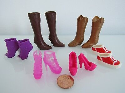 """New Footwear Shoes/boots/heels For/fits 11.5"""" Mattel Barbie Doll"""