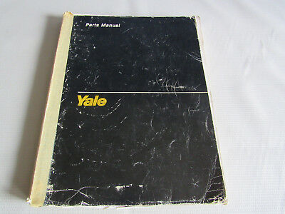 yale trucks forklift parts manual erp 030/040 tce 1455 1988 + wiring diagram  usa