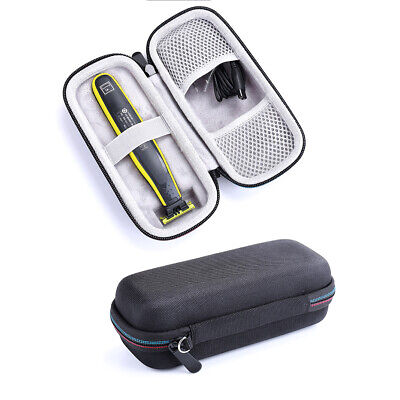 Q SHAVE Hard Travel Case For Philips Norelco One Blade Hybrid Electric Trimmer Q