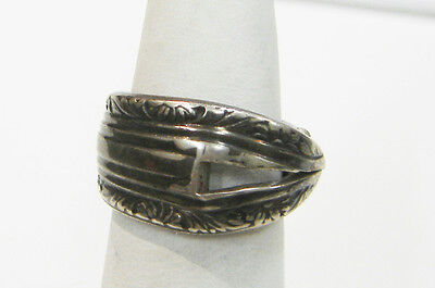 Sterling Silver Spoon Handle Ring Size 8 N455-R