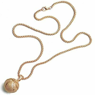 Football Basketball Necklace Pendant Stainless Steel Chain Men Women Fashion new