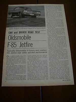 1963 OLDSMOBILE JETFIRE F-85 ***Original Article***