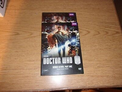 Doctor Who: Series Seven, Part One (DVD, 2012, 2-Disc Set) BRAND NEW SEALED!!
