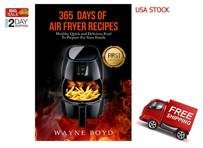 Air fryer cookbook: 365 day of air fryer recipes [PDF,EB00K]
