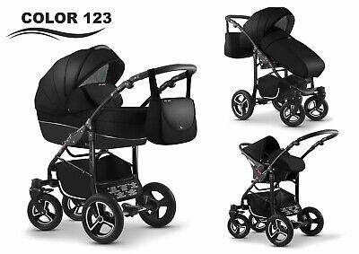 Baby Pram Buggy New 3in1 Travel System Car Seat Stroller Pushchair Carrycot.