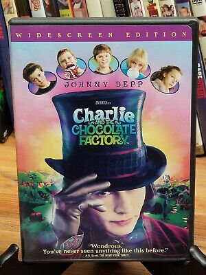 Charlie And The Chocolate Factory .  Great Quality .   [Dvd] Combine Shipping!