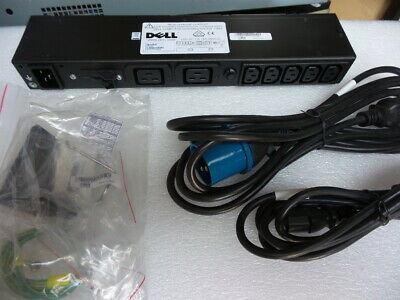 Dell / APC AP6122 Power Distribution Unit PDU complete with rack ears and mains