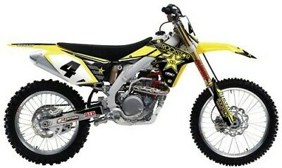 Factory Effex Rockstar Energy Drink Shroud Graphics Kit Suzuki RMZ250 2010-2017