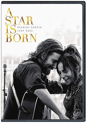 A Star is Born ( DVD 2019) Brand New Gaga Cooper Free Shipping