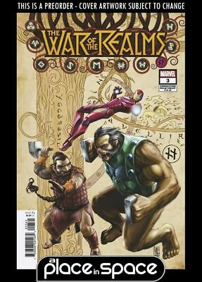 (Wk18) War Of The Realms #3B - Connecting Variant - Preorder 1St May