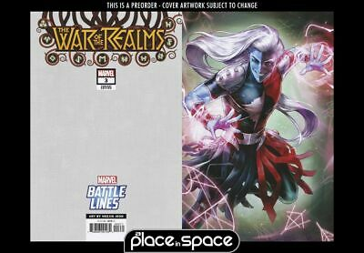 (Wk18) War Of The Realms #3D - Battle Lines Variant - Preorder 1St May