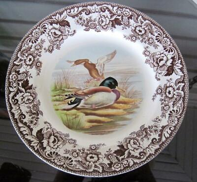 "Spode China Woodland Mallard 10.75"" Dinner Plate"