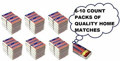 Quality Home Wooden Kitchen Matches 60 Boxes 32 Count Per Box (1920 Pieces)