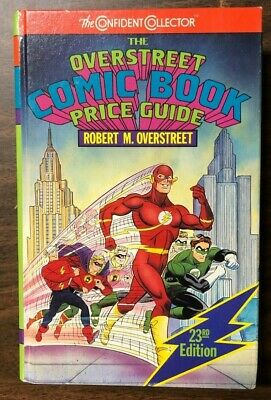1993 OVERSTREET COMIC BOOK PRICE GUIDE #23 hardcover Flash & Green Lantern cover