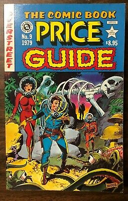 "1979 OVERSTREET COMIC BOOK PRICE GUIDE #9 softcover Wally Wood ""EC Comics"" cover"