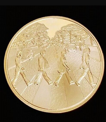 The Beatles Abbey Road Gold Art Commemorative Coin