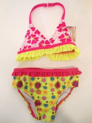 Toddler Girls Fashion /& Function 2pc Assorted Swimsuits Size 3T