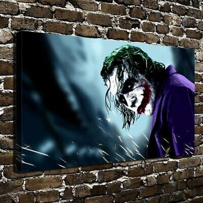 "12""x22""DC Batman Joker Paintings HD Print on Canvas Home Decor Wall Art Picture"