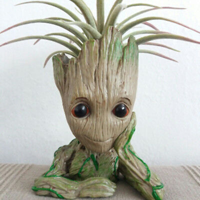 Guardians of The Galaxy Baby Groot Planter Pen Flowerpot Tree Man Brush Pen Pot