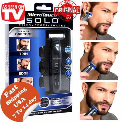 New Solo Rechargeable Men's Intelligent Shaver Rechargeable Shaver Trimmer